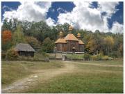 Musée en bois - village de Pyrogovo