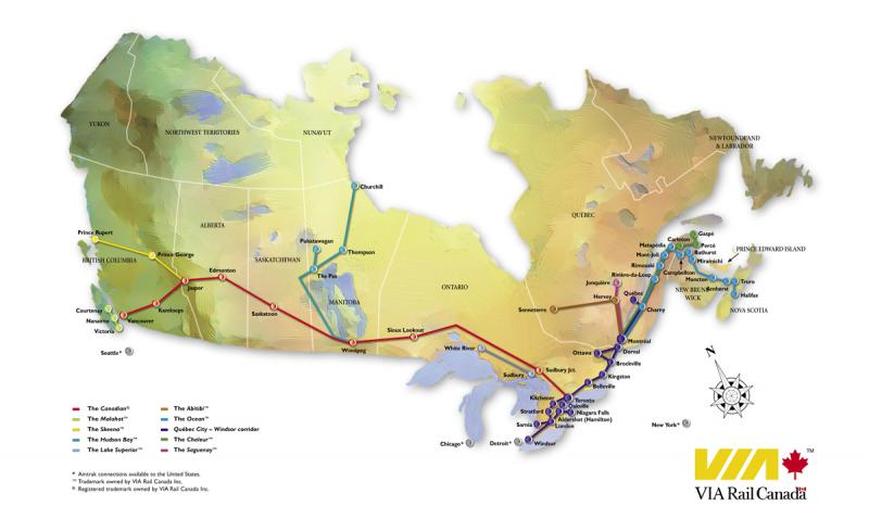 Canada Discovery Trains